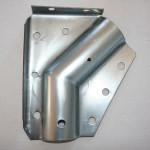 Flangia laterale per innesto arco e supporto gronda laterale