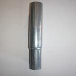 Tubo d.60 strozzato per favorire l'inserimento di altri pezzi