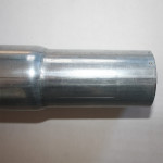 Tubo d.60 strozzato per favorire l'inserimento di altri pezzi (2)